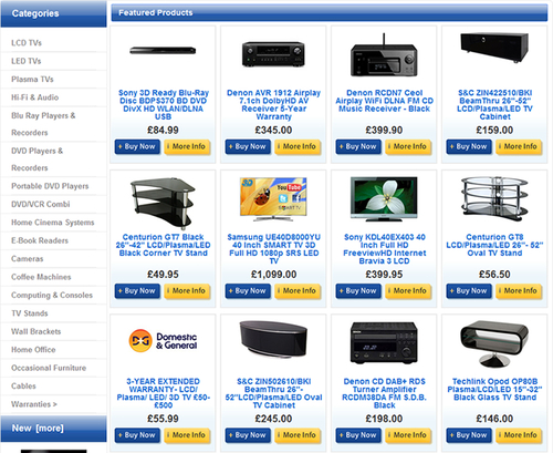 Product picture Shopping Cart Software Build & Create Your Own Online Store